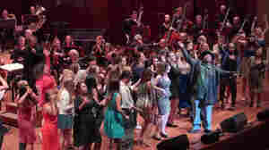 "Sir Mix-a-Lot and the Seattle Symphony performed his hit ""Baby Got Back"" amid energetic audience participation Saturday night."