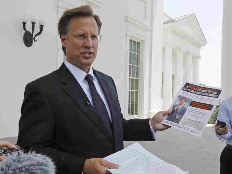 Tea Party-backed David Brat, an economics professor at Randolph-Macon College, has defeated House Majority Leader Eric Cantor in his Virginia Republican primary.