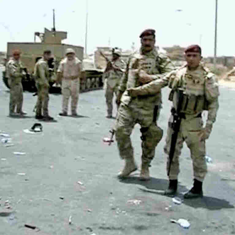Insurgent Group Claims Large Part Of Major Iraqi City