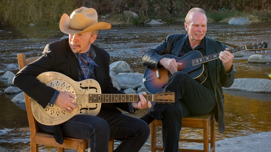 Dave and Phil Alvin. (Courtesy of the artist)