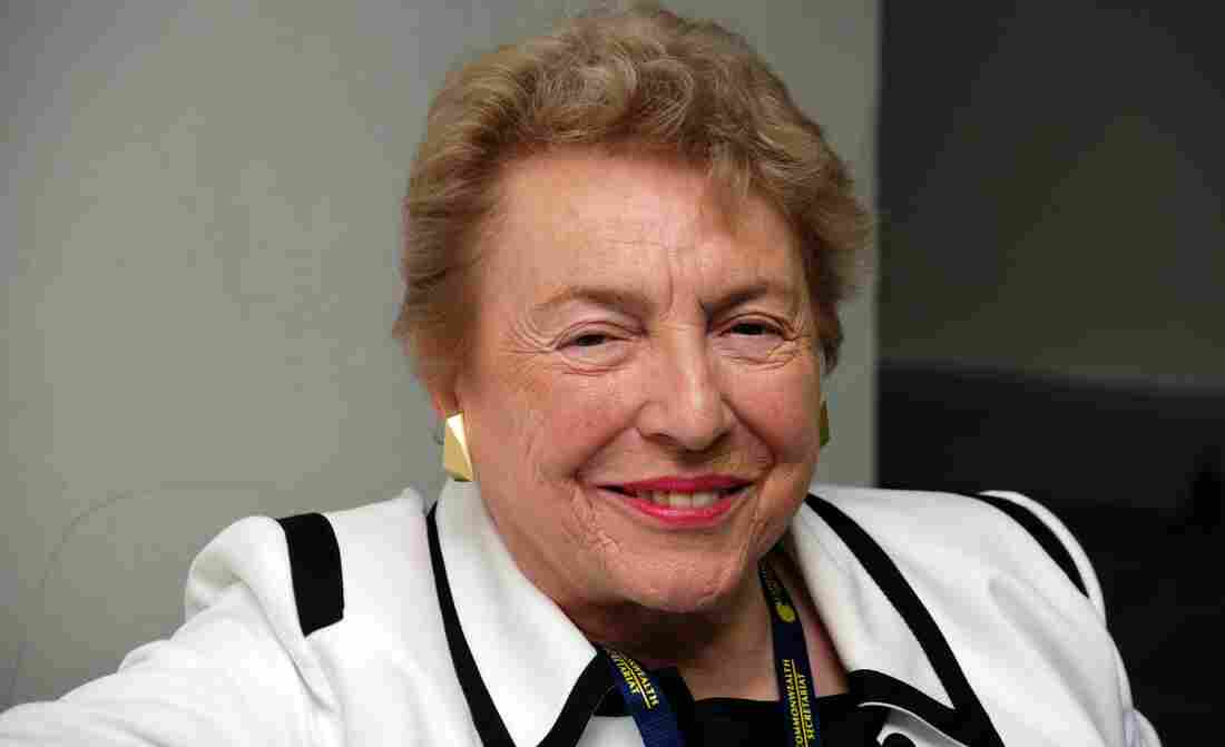 """Dame Stephanie Shirley took on the family nickname """"Steve"""" so that her business proposals would be taken more seriously."""