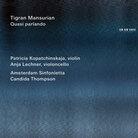 """Tigran Mansurian: Concerto No. 2 """"Four Serious Songs."""""""