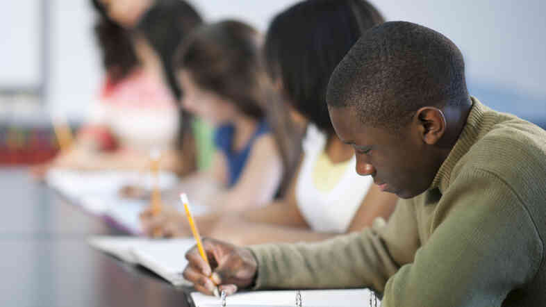 Looking at the question of academic success among school-aged black males.