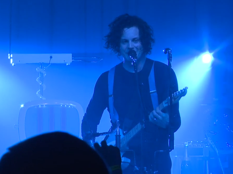 See Jack White recorded live in concert from the historic Fonda Theater in Hollywood, Calif.