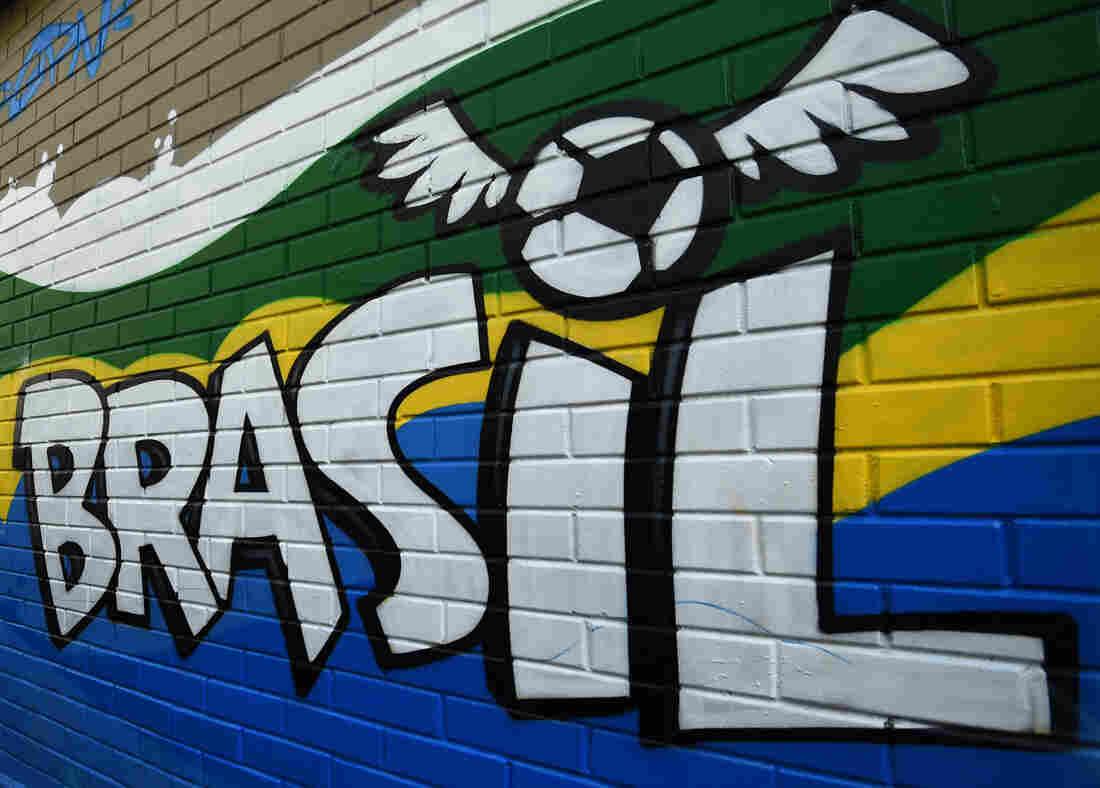 A mural in Rio de Janeiro.