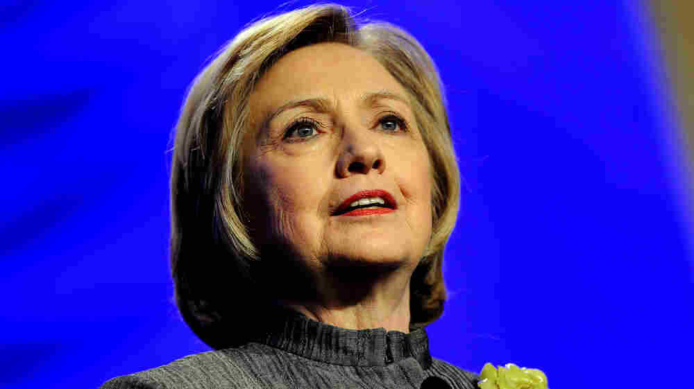 """Hillary Clinton's new memoir, Hard Choices, outlines her four years as secretary of state under President Obama. She talks about her vote for the Iraq War, women's rights and political """"gamers."""""""