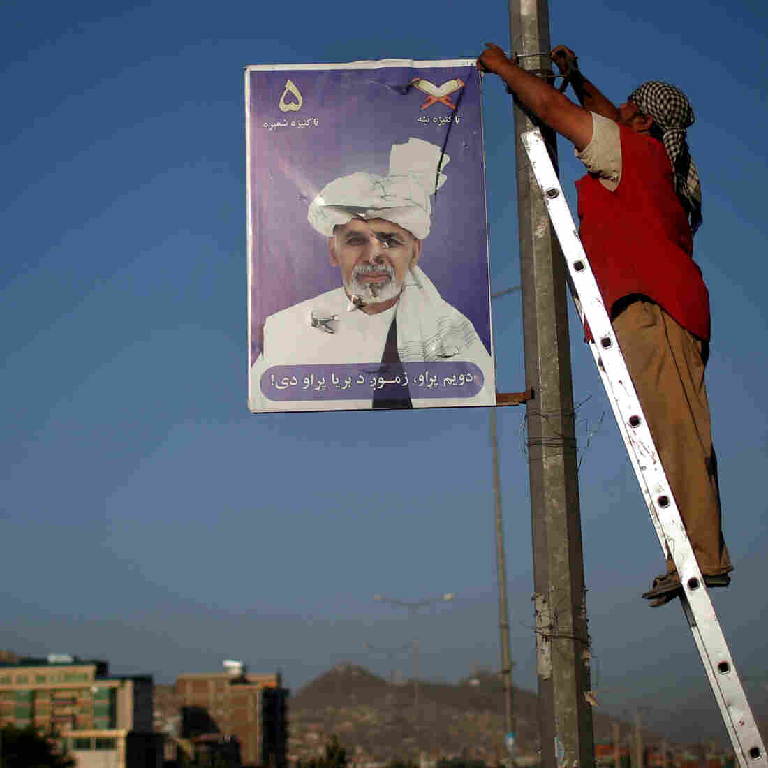 In A First, Afghanistan Is Set To Change Leaders At The Ballot Box