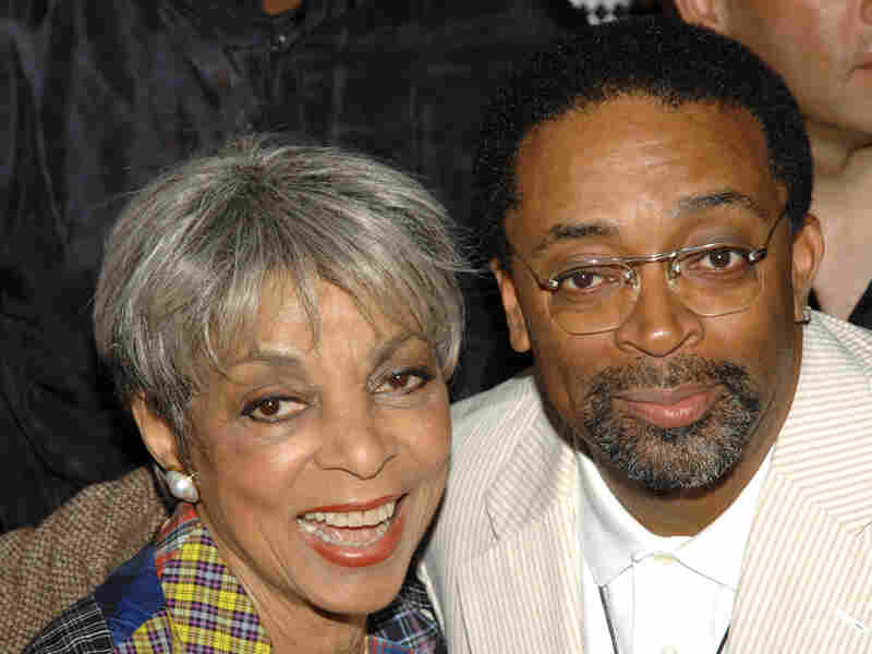 Actress Ruby Dee and director Spike Lee attend a special 20th anniversary screening of Do the Right Thing, in New York, in 2009. Dee died Wednesday at age 91.