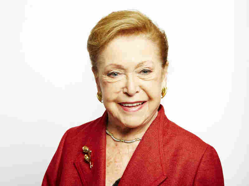 Mary Higgins Clark poses for a portrait on Sept. 25, 2013, in New York.