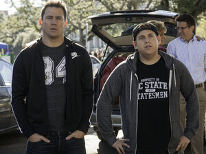Channing Tatum and Jonah Hill return in the absolutely expected sequel 22 Jump Street.