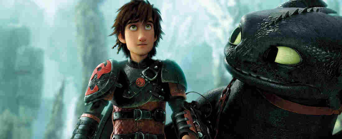 Advanced animation and audio software help bring Hiccup (Jay Baruchel) and his pet dragon, Toothless, to life in How to Train Your Dragon 2.