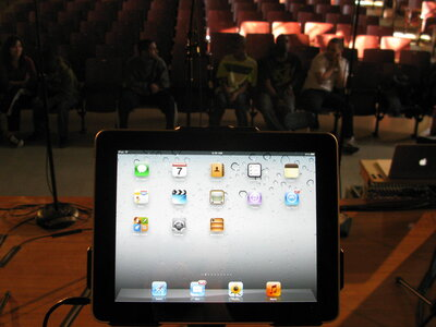 An iPad in a classroom. So what?
