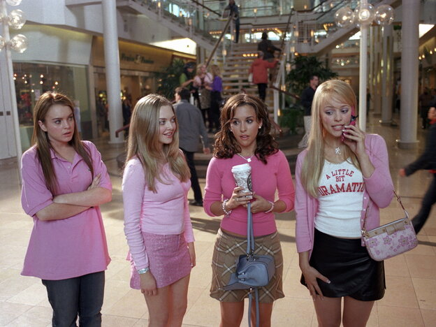 As Lindsay Lohan's character (far left) learned in the movie Mean Girls, popularity comes at a price.