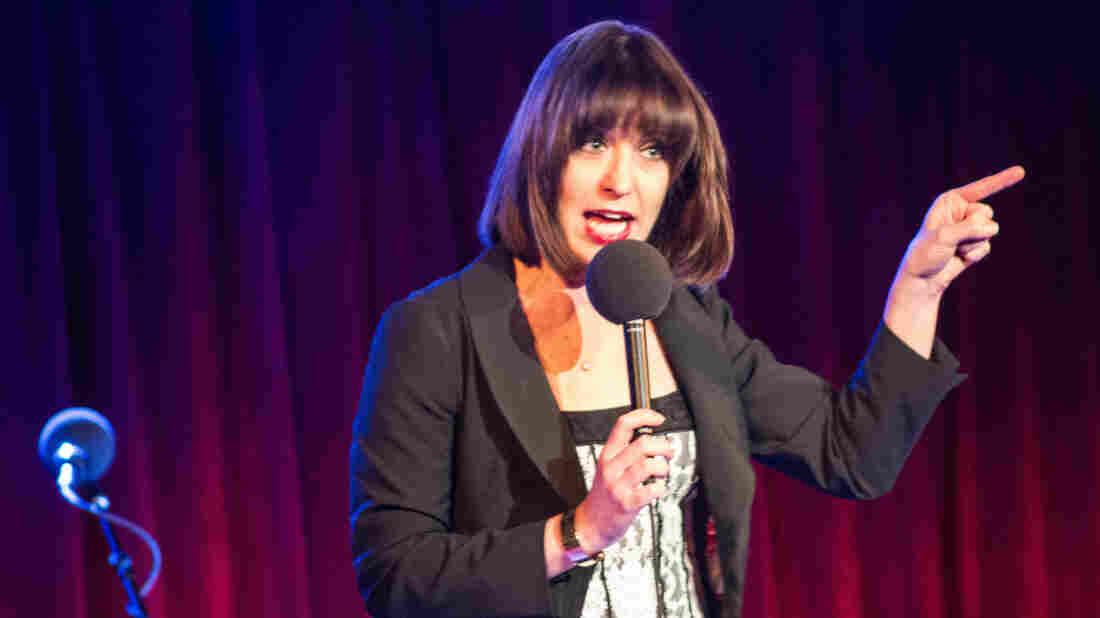 Host Ophira Eisenberg.