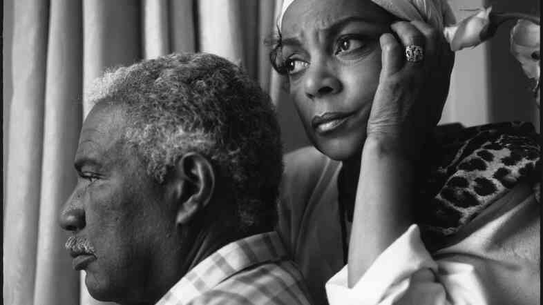 Ossie Davis and Ruby Dee at the 1989 Cannes Festival for the showing of Spike Lee's Do The Right Thing.