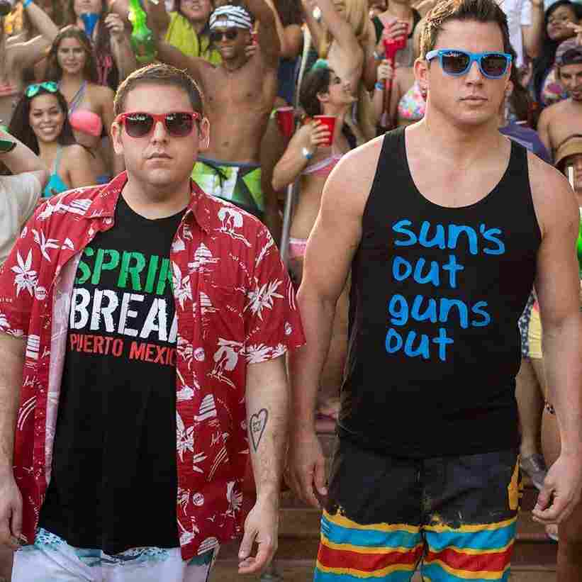 Jonah Hill and Channing Tatum age out of high school in a Jump Street sequel that doesn't mess with its successful formula.