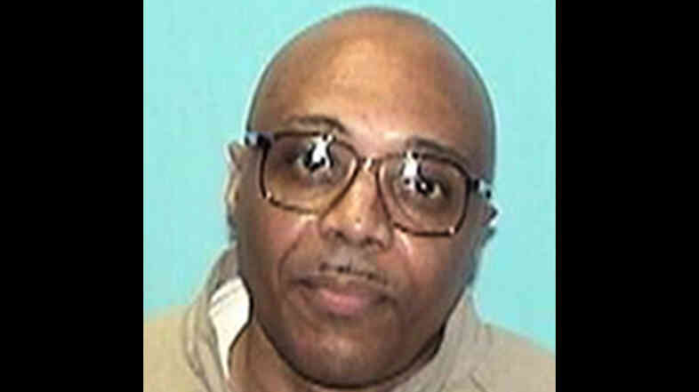 An undated photo of Andre Davis provided by the Illinois Department of Corrections before his release in July 2012 on exculpatory DNA evidence. Davis is now facing a new murder charge.
