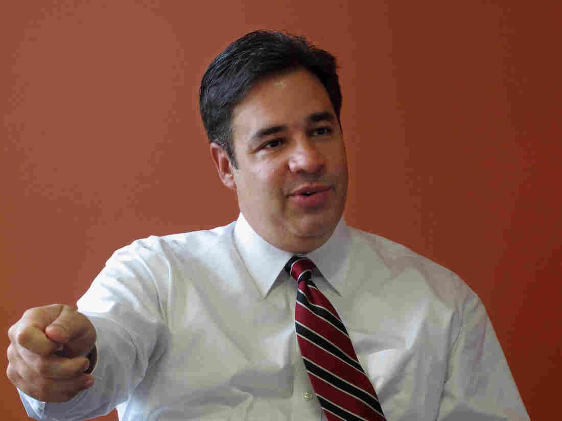 Rep. Raul Labrador, R-Idaho, is making a long-shot bid to replace Rep. Eric Cantor as House majority leader.