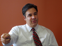 Rep. Raul Labrador, R-Idaho, is making a long-shot bid to replace Rep. Eric Cantor as House majority leader.