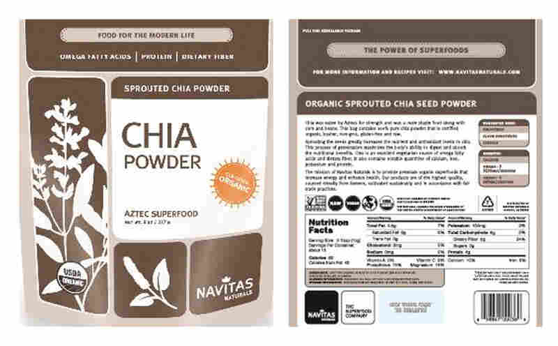 The Centers for Disease Control and Prevention on Friday issued a warning about chia powder because of possible salmonella contamination.