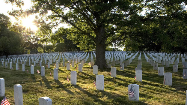 Arlington National Cemetery is the final resting place for more than 400,000 men and women. Most were members of the armed forces who served in active duty — but not all.