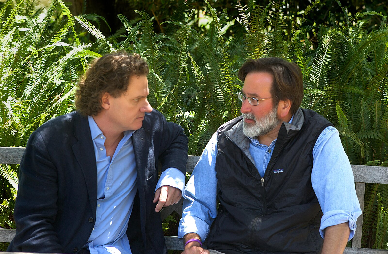 Peter Rodger (left) and Richard Martinez in Santa Barbara on June 1.