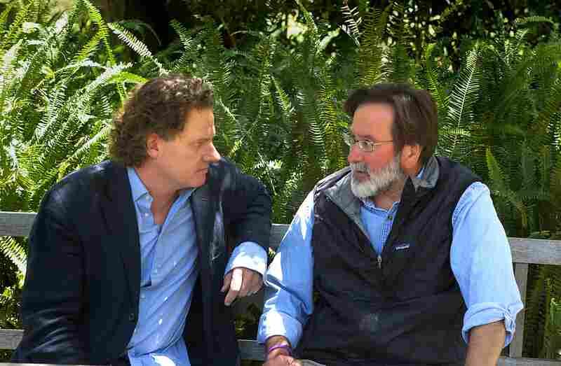 Peter Rodger (left) and Richard Martinez in Santa Barbara on June 1.