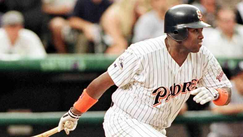Tony Gwynn in 1998.