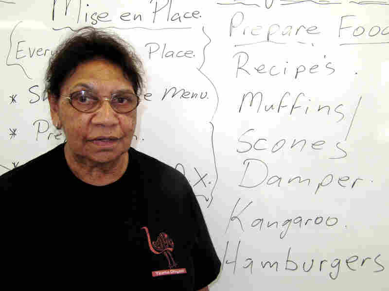 Aunty Beryl Van-Oploo heads Yaama Dhiyaan, the first cooking and hospitality training college for at-risk indigenous young people in Australia.