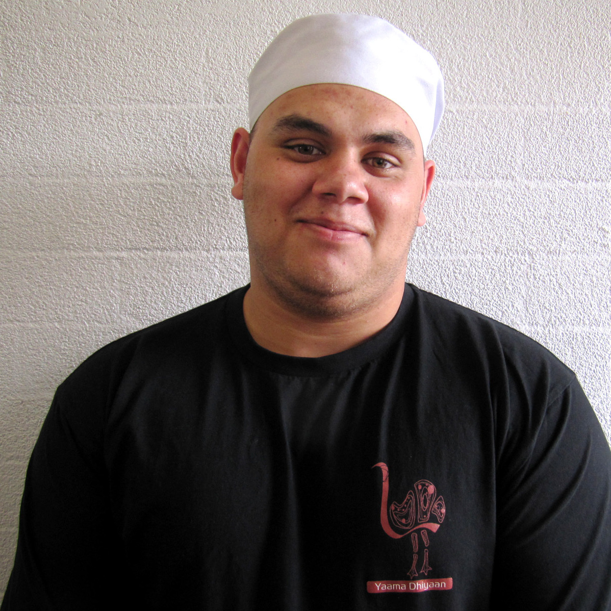 When James Wilden was a student in Yaama Dhiyaan's hospitality program, he was incarcerated in jail. He has since found work cooking in restaurants in Australia's Northern Territory.