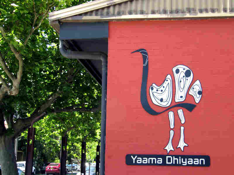 The logo of Yaama Dhiyaan Hospitality Training Center in Sydney features an emu, the totem of Aunty Beryl, the aboriginal elder who heads the program. Among the indigenous tribes of Australia, it is forbidden to eat your totem.