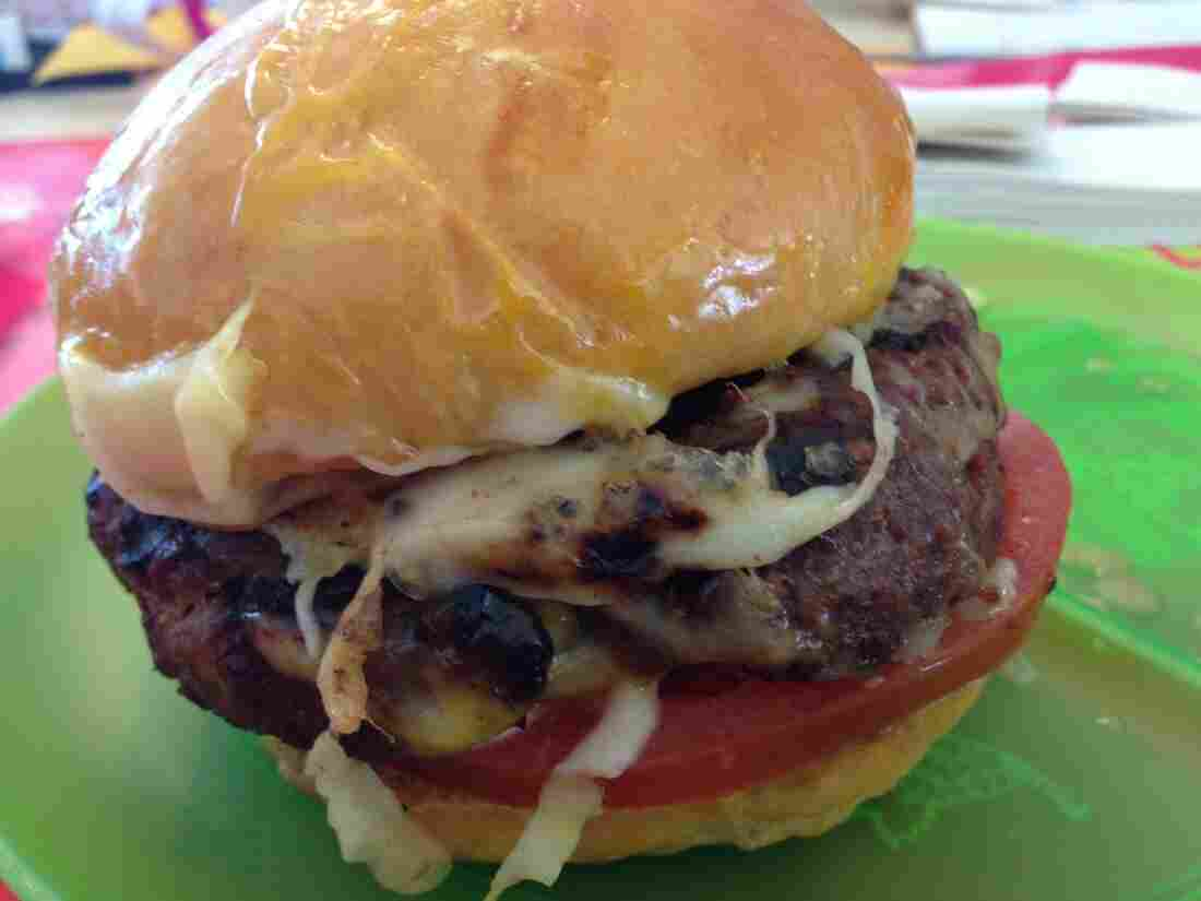 The B50 Burger — as in, you won't live to be 50.