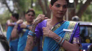 India's transgender community, known as hijras, stars in an ad promoting seat belt use across the country.