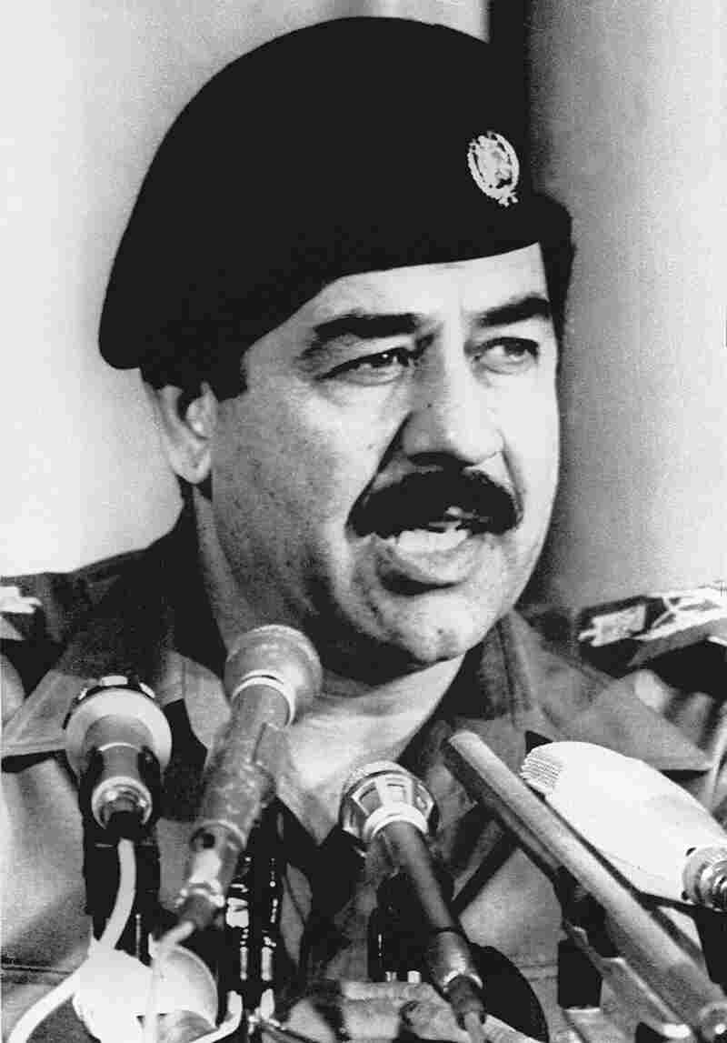 "Saddam Hussein, seen here in 1980, did not cast the Iran-Iraq war in sectarian terms. He ""largely represented himself as the bastion of Arab nationalism resisting Persian hordes,"" says Ray Takeyh, author of Hidden Iran."