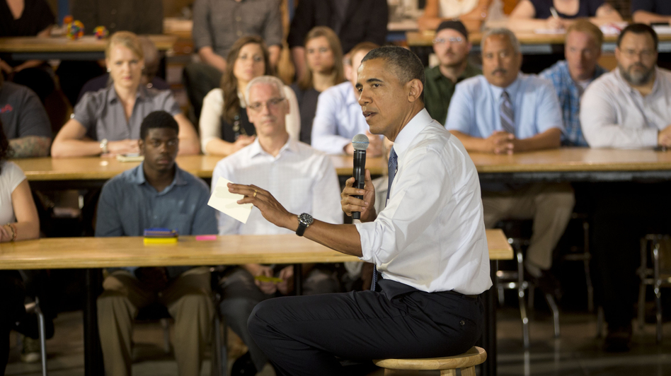 During a visit to Pittsburgh Tuesday, President Obama comments on the capture of a Libyan militant suspected of the 2012 killings of four Americans in Benghazi.