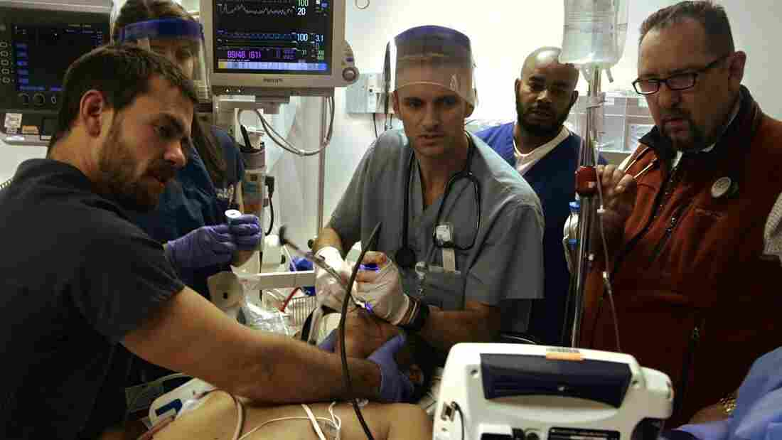 Dave Pomeranz, Ryan McGarry and William Mallon are some of the real-life ER doctors depicted in Code Black.
