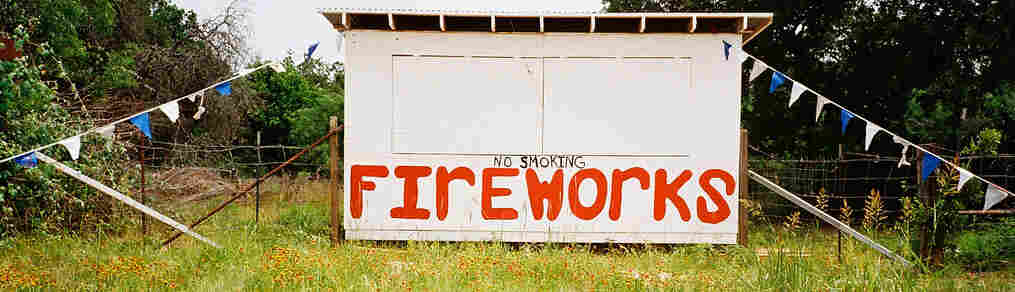 how to open a fireworks stand in texas
