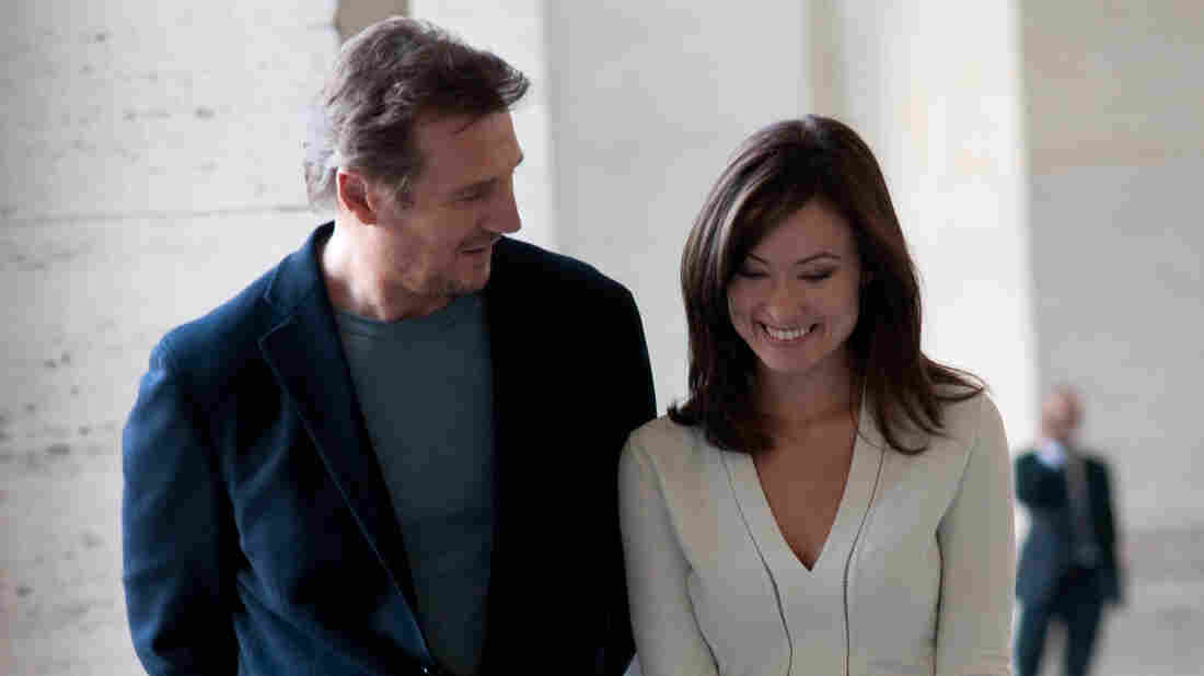 Liam Neeson and Olivia Wilde in Paul Haggis' Third Person.