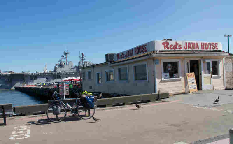 San Francisco's proposed location is Seawall 330, across from Piers 30-32 (and the storied Red's Java House).