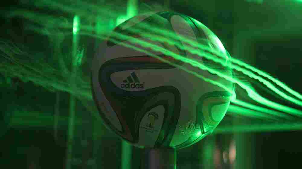 Scientists Keep A Careful Eye On The World Cup Ball