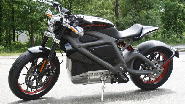 Harley-Davidson's new electric motorcycle can hit 60 mph from a standing start in 4 seconds. The company plans to unveil the LiveWire model Monday in New