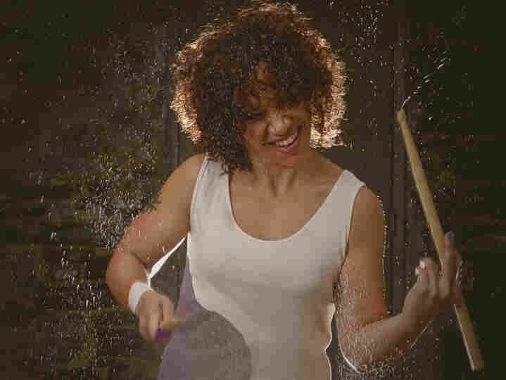 Drummer LaFrae Sci (seen here in a photo shoot for Tom Tom Magazine) says that even nonmusicians can benefit from learning to hear two rhythms at once.