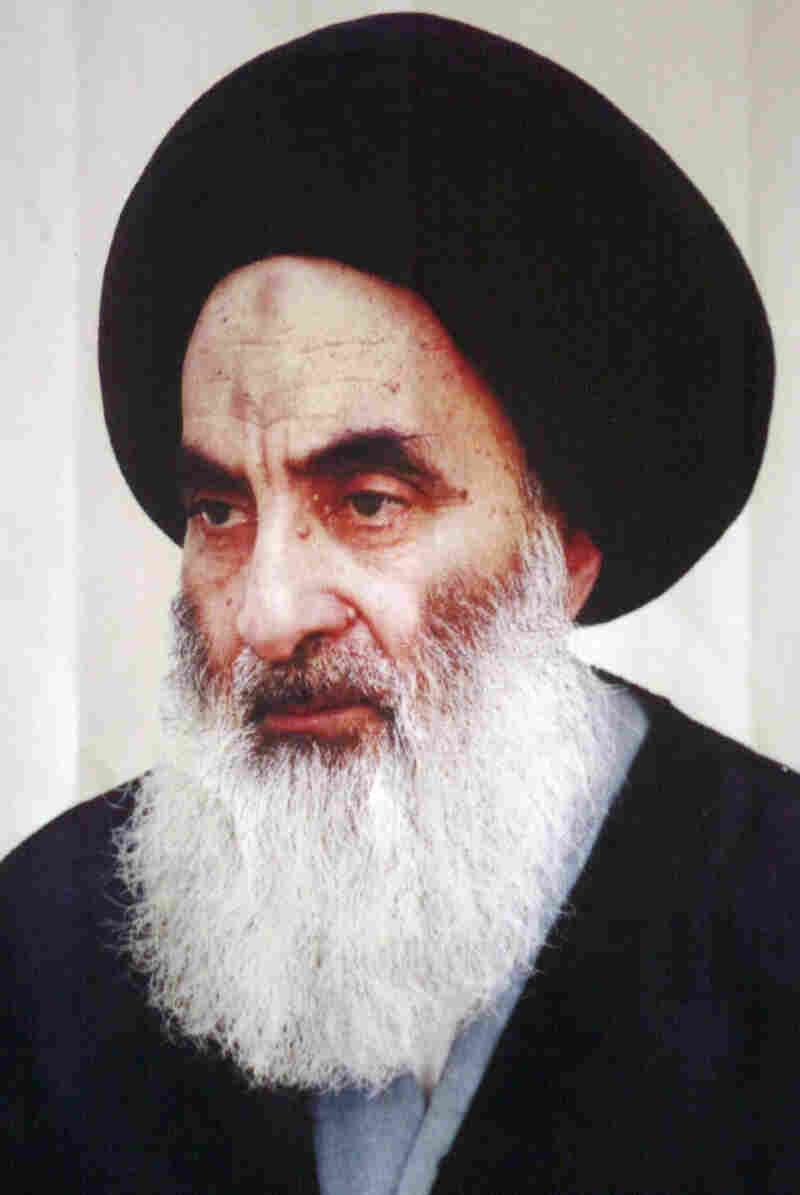 Although he was born and raised in Iran, Iraq's senior cleric, Grand Ayatollah Ali al-Sistani, advocates a political future for Iraq that is far different from the Iranian model.