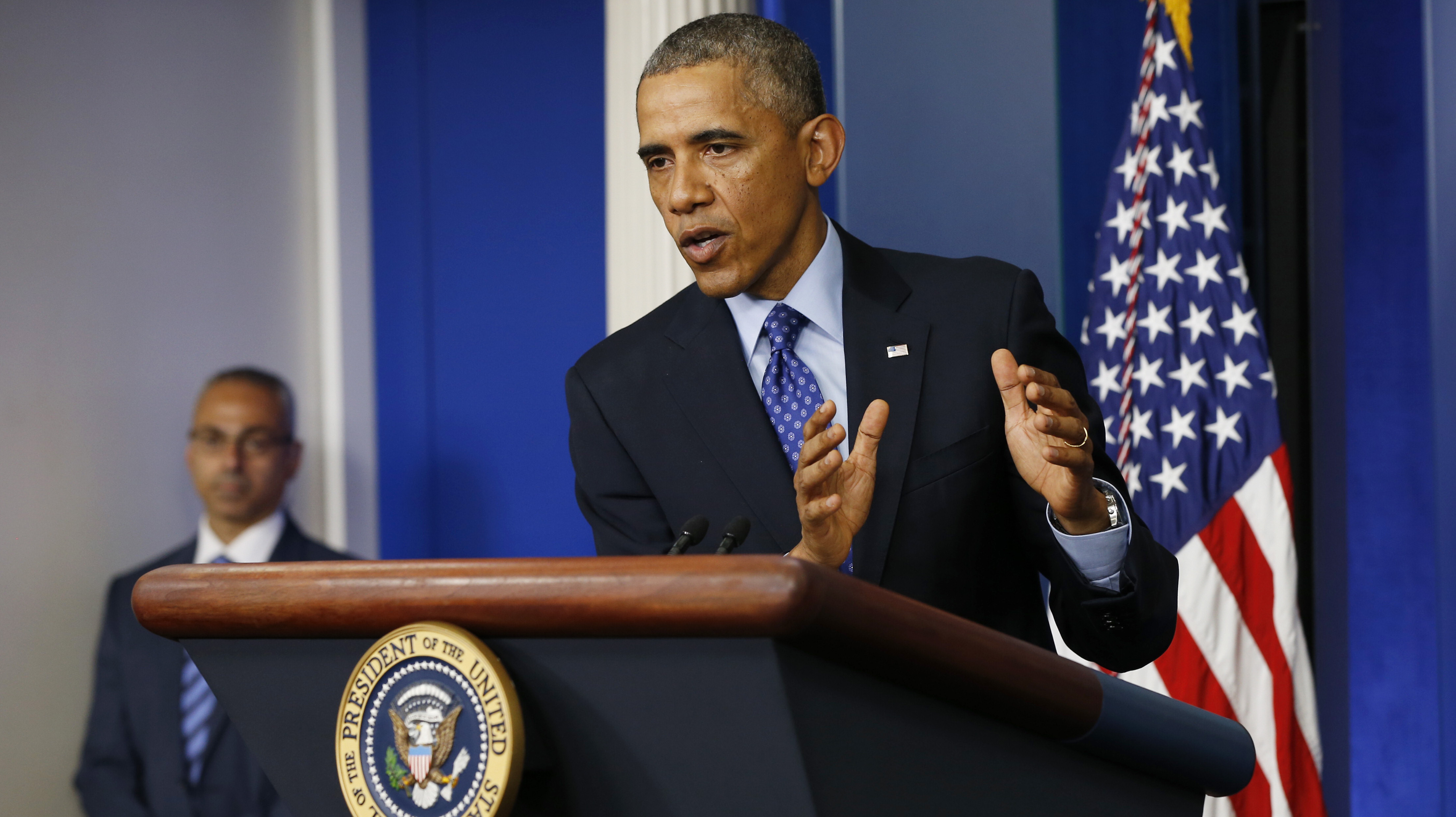 Obama: U.S. Forces Won't Return To Combat In Iraq Crisis