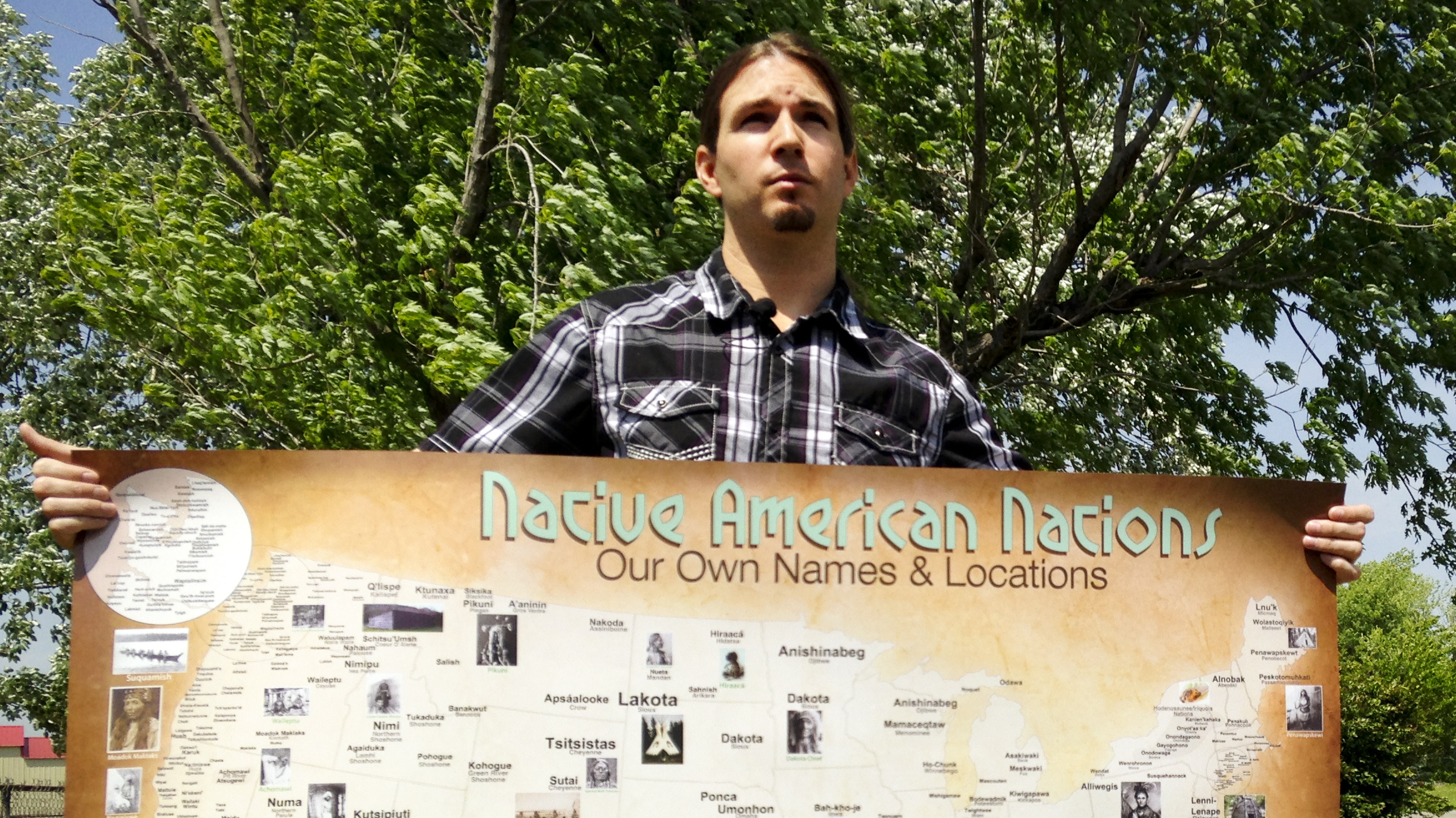 Very valuable map of native american tribes in america
