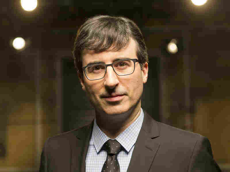 "John Oliver's new political satire Last Week Tonight airs on HBO. Oliver says the network gives him an almost ""confusing amount of freedom."""