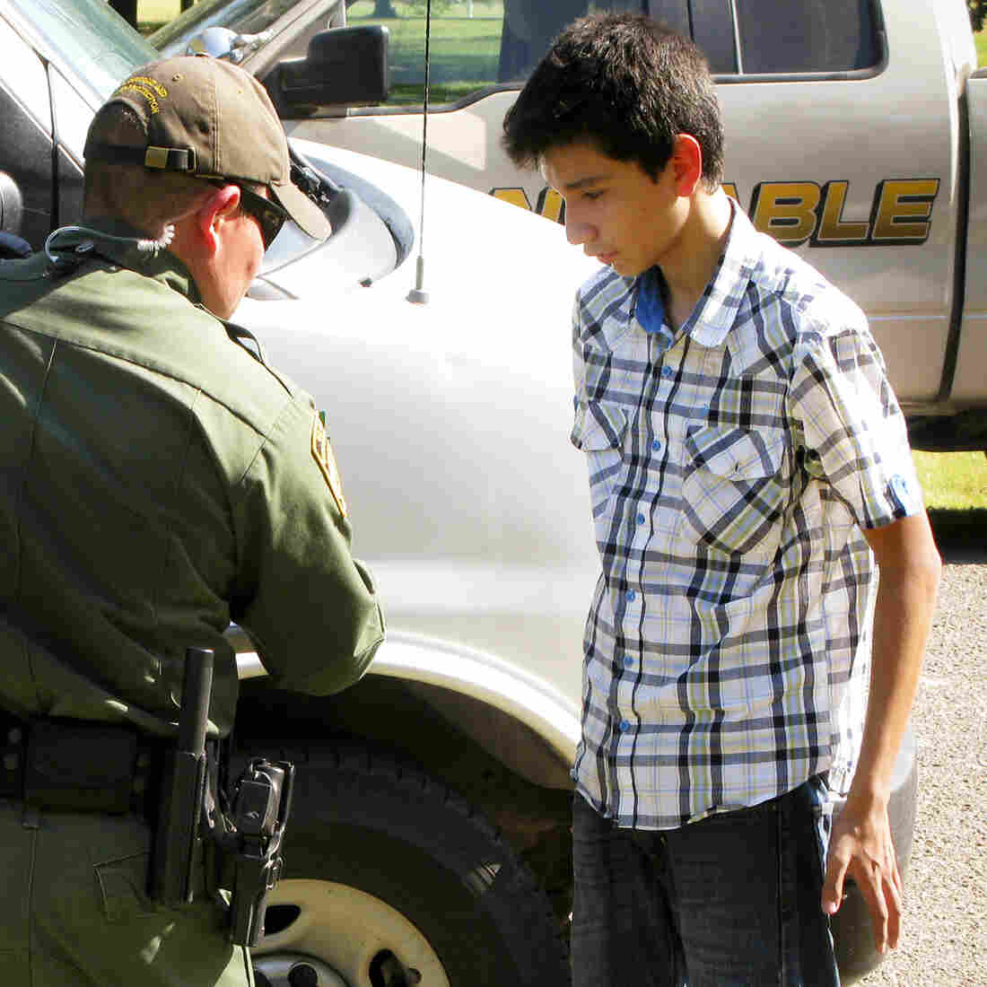 From A Stream To A Flood: Migrant Kids Overwhelm U.S. Border Agents