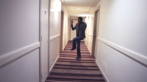 Man Floats Free In Hotel Corridor