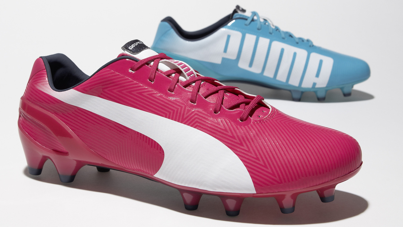 Puma's Pink And Blue Cleats Make A Bold Play At The World Cup : NPR