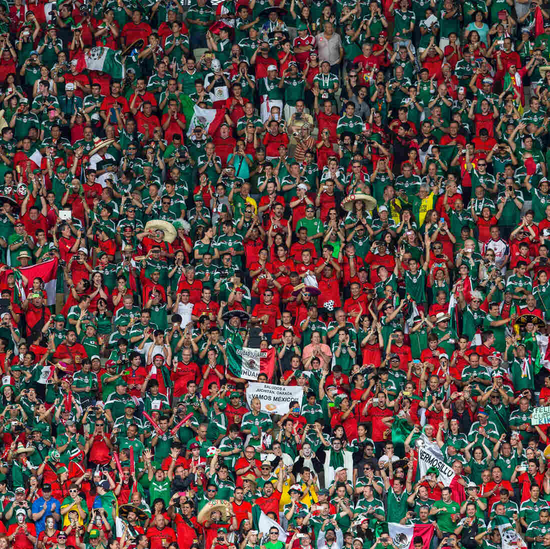 Some Mexico Fans Feel Unfairly Targeted For World Cup Chants